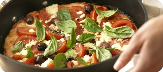 gourmet italian stove top pizza saute pan recipes